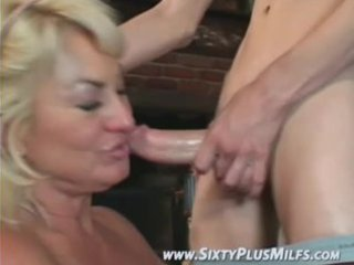 admirable blonde grandma avid to fuck