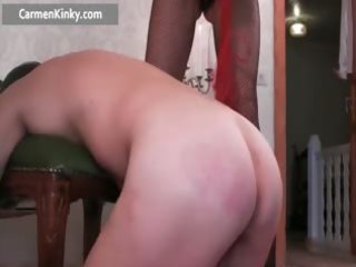 perverted milf fucking stud with strap part4