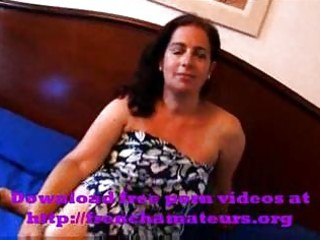 dark brown spanish aged lady is fucking sons ally