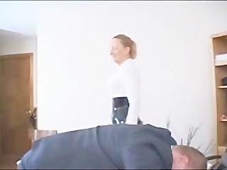 Mistress Venus Divine Caning Slave