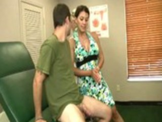 hot doctor and milf jerking off mmf jointly