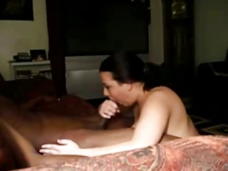 lascivious cheating wife sucking black paramour