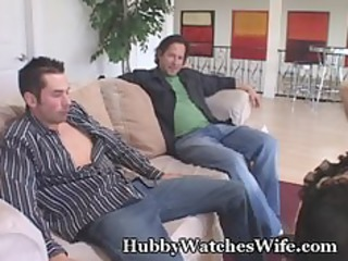 palatable wifey gangbanged by youthful dude