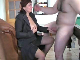 russian mom viola fucks young guy