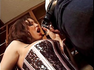 An office girl seduced by her boss