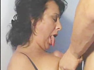 older latin chick bitches go cock diving!