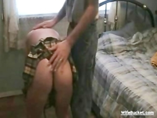 nextdoor wife roped and drilled