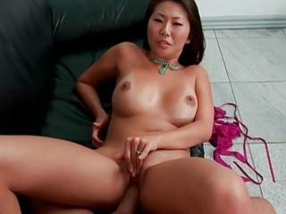 sexy oriental wife receives brutally pumped