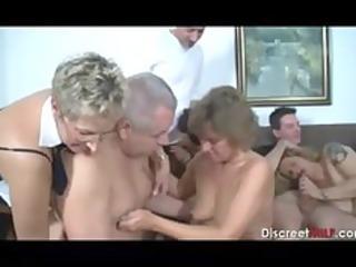 older swingers sex party