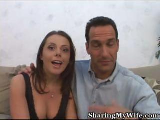 my horny wife came many times while getting