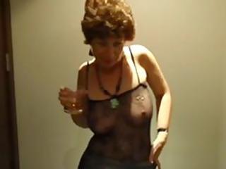 Drunk MILF Drunk Slutty British Granny