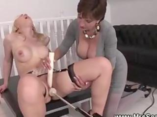 blonde older brit loves mechanic sex