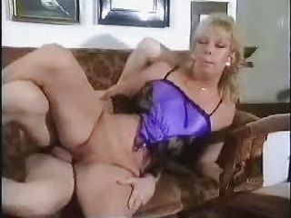 pierced hairless aged drilled on bed with facial