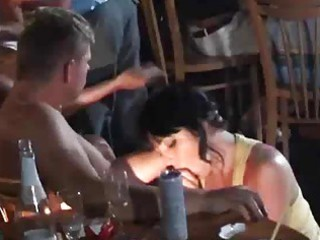 milfs and girlfriends fucking and engulfing shlong