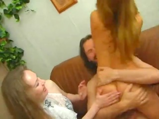 excited amateur older mother screwed hard by her