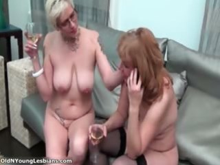 horny older lesbians are drinking part0