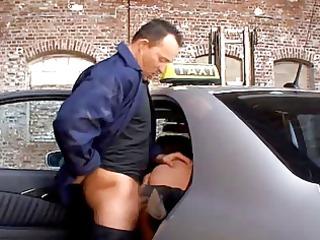 geile taxifahrerin
