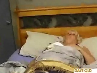 Fat mature fucks the massage boy