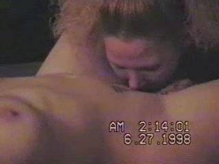 my wife st time licking slit