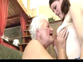 granny teaching how to be lesbian