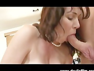 Squirting MILF Rayveness Gets Fucked Hard in the