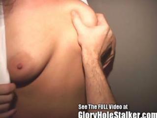 cheating wife drains strangers gloryhole cocks