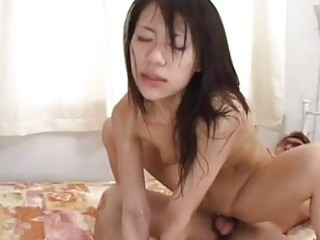 Hot milf riku shiina loves to engage in group fuck