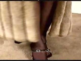 vixenkitten in fur coat receives drilled older