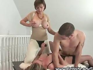 older femdom fetish fuck trio