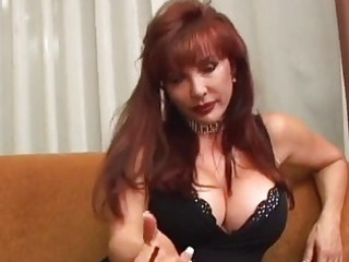 sexy older vanessa smokin previous to sex