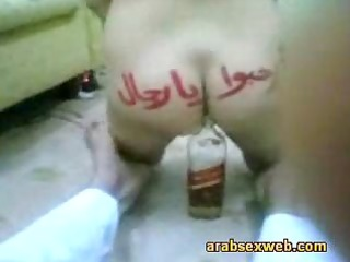 arab babe fucks the bottle-asw5610