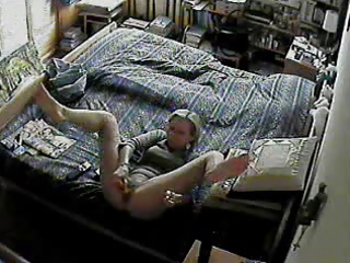 spy web camera beneath wife