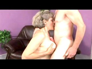 granny plays with old dude by troc