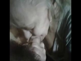 granny hawt sucks a youthful stud