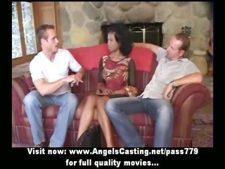 virginal afro bride in some does oral pleasure