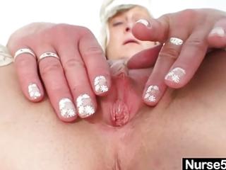 impure nurse milf nada copulates herself with