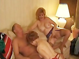kitty foxx threeway with a mature mature older