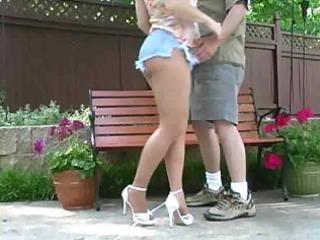 hot blond milf banging in hose
