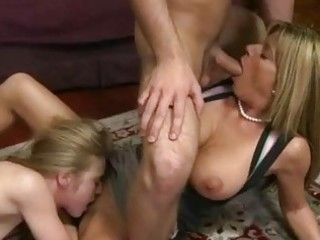 d like to fuck and her stepdaughter shares on cock