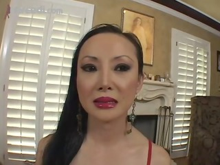 aged oriental hotty venus slobs a penis