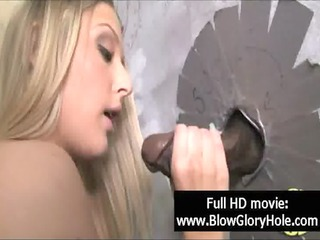 gloryhole - hot breasty honeys love sucking rod 50