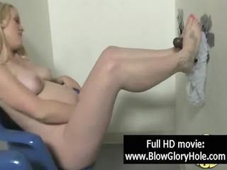 GloryHole - Sexy Busty Babes Love Sucking Cock 06