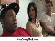 My mommy go black : amazing interracial milf sex