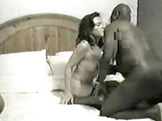 white milf entertains darksome lover. rate&;