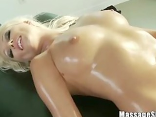 Erotic Massage for Sexy MILF Diana Doll