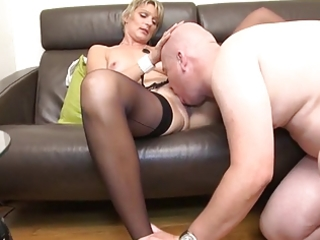 soisic a french aged drilled in a three-some
