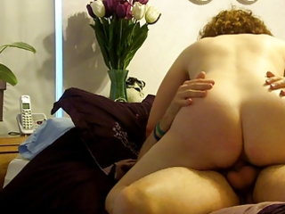 naked mommy jumps on daddy part 1