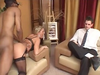 wife receive bbc anal her spouse see troia culo