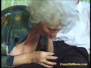 crazy old mom acquires large shlong