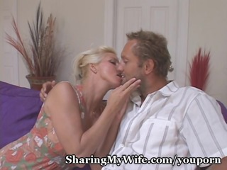 housewife wishes old and youthful cock